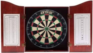 GSE Games & Sports Expert Solid Wood Dartboard