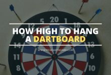 How high to hang a dartboard, Solved! | Pickdartboard